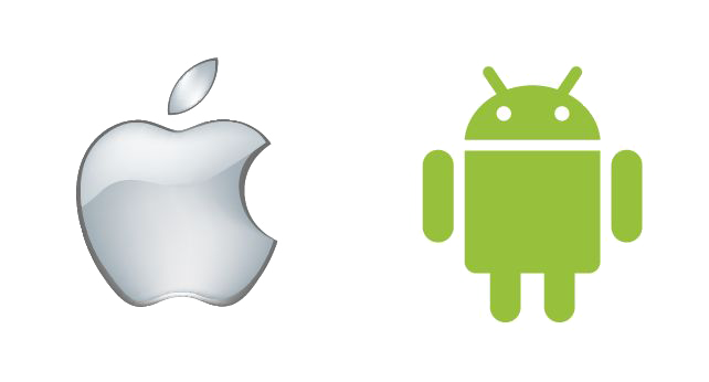 icones android market et ios
